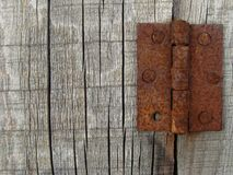 Rusty hinges Stock Image
