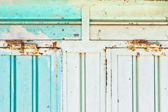 Rusty hinges Stock Photo