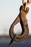 Rusty Hook stock afbeelding