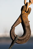 Rusty Hook Stock Image