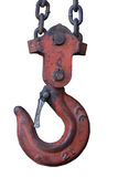 Rusty hook Stock Images