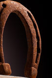 Rusty Horse Shoe Immagine Stock