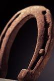Rusty Horse Shoe Fotografia Stock Libera da Diritti