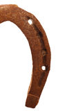 Rusty horse shoe Royalty Free Stock Images