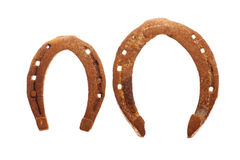 Rusty horse shoes Royalty Free Stock Images