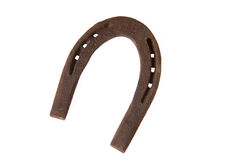 Rusty horseshoe Royalty Free Stock Photography
