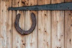 Rusty horseshoe Royalty Free Stock Image