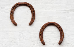 Rusty Horseshoes Stock Image