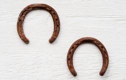Rusty Horseshoes Stock Image