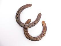 Rusty horseshoes Stock Photography