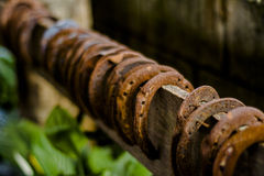 Rusty Horseshoes Royalty Free Stock Photos