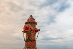 Rusty hydrant. 3d illustration of a rusty hydrant Royalty Free Stock Image
