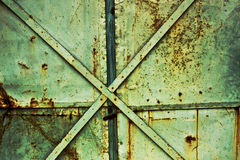 Rusty industrial background Stock Image