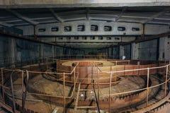 Rusty Industrial Containers imagens de stock