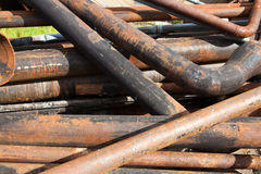 Rusty industrial garbage Royalty Free Stock Photos