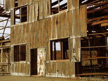 Rusty industrial ruins. In Tolhuin Stock Photography