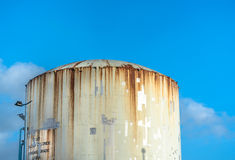 Rusty Industrial Tank Stock Images