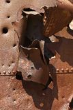 Rusty iron Royalty Free Stock Images