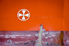 Rusty Iron for background Stock Photography
