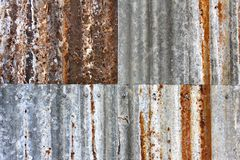 Rusty Iron Background 3 Images libres de droits