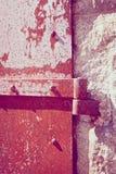 Rusty Iron Door Details Fotografia de Stock Royalty Free