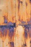 Rusty iron door Royalty Free Stock Image