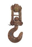 Rusty iron hook Royalty Free Stock Photo
