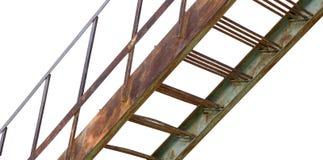Rusty iron ladder Stock Photos
