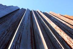 Rusty iron pillars Stock Photos
