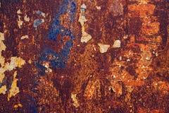 Rusty iron plate Royalty Free Stock Photos