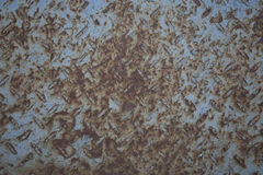 Rusty iron plate surface Stock Photography