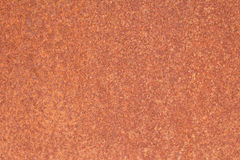Rusty iron sheet with corrosion stains Royalty Free Stock Photo