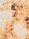Rusty iron sheet Stock Photography