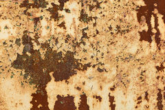 Rusty iron sheet Royalty Free Stock Image