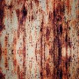 Rusty iron sheet texture Stock Photography