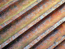 Rusty iron surface Stock Images