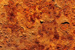 Rusty iron texture Royalty Free Stock Images