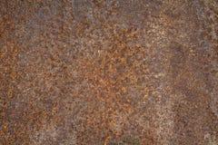 Rusty Iron voor achtergrond Royalty-vrije Stock Afbeeldingen