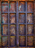 Rusty Iron Window Stock Images