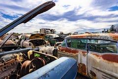Rusty Junk immagini stock