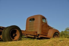 Rusty junker truck Stock Images