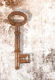 Rusty key Royalty Free Stock Photography