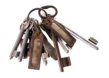 Rusty key Royalty Free Stock Images