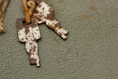Rusty Keys Royalty Free Stock Photos