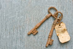 Rusty keys Stock Photos