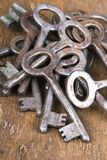 Rusty keys Royalty Free Stock Images