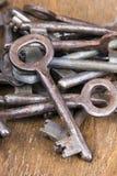 Rusty keys Royalty Free Stock Image