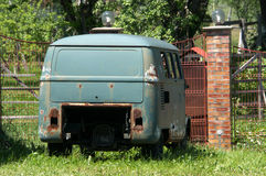 Rusty Kombi Royalty Free Stock Photos
