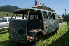 Rusty Kombi Royalty Free Stock Images
