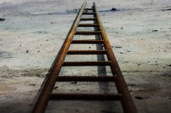 Rusty ladder Royalty Free Stock Images